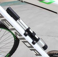 air resistance bike - Bicycle MINI pump Cycling Bike Air Pump Tyre Tire Ball Ultralight bike Portable High pressure resistance mtb bomba bicicleta