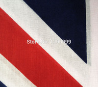 bandanas uk - hip hop bandanas for Unisex head scarf colorful UK flag kerchief Cotton