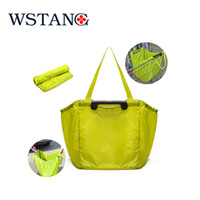 folding shopping cart - W S TANG New Portable large capacity folding cart supermarket shopping bags of environmental protection repeatedly used