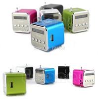 Wholesale J35 PC Micro SD TF Mini USB Speaker Music Player Portable FM Radio Stereo PC MP3