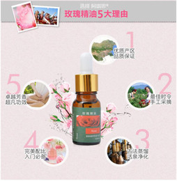 Wholesale Min Order Morocco Pure Rose Essential Oil Whitening Spots light hydrating moisturzing Women Skin Care Rose Damascena ML