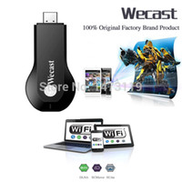 Cheap Wholesale-C2 wecast Miracast adapter Dongle mirror cast android mini pc tv stick airplay dlna wireless hdmi as good as ezcast chrome cast