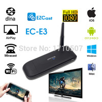 Cheap Wholesale-E3 EZcast android tv HDMI Streaming Media Player support miracast dlna better than chrome cast android hdmi stick