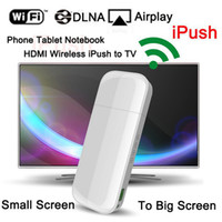 armed display screen - iPush D2 Wifi Display Dongle Receiver ARM M DLNA Airplay for Smart phone Tablet PC Multi screen tv stick