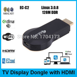 Descuento androide dlna palo de televisión Al por mayor-EzCast miracast Dongle TV del palillo DLNA Airplay iOS Android Windows Mac betten de streaming de televisión en vivo Chromecast vídeo 1080P