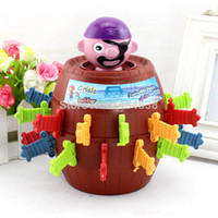 Wholesale Novelty Items Gadgets Funny Barrels Of Uncle Prank Useless Box Gadget Bucket With Sword Funny Toys Running Man King Uncle Pirate