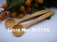 Wholesale Good quality bamboo spoon baby spoon coffee spoon spoon