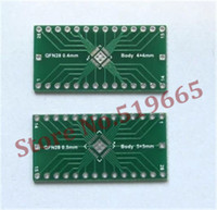 Wholesale High quality QFN28 to DIP28 Adapter PIN Pitch mm PCB Board Converter DIP Converter