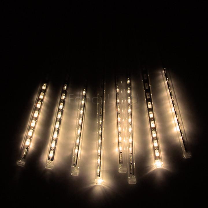Best Quality Wholesale Hot New 30cm Shower Rain Meteor Tube Led String Light For Christmas ...