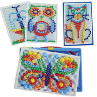 ba kit - New BA Brief Creative Kids Children Nail Composite Picture Puzzle Greative Mosaic Kit Puzzle Toy AB