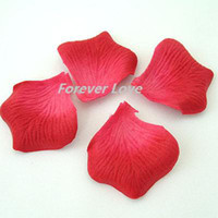 Wholesale Fuchsia Beautiful Wedding Artificial Rose Flower Petal Decor