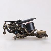Wholesale Handmade tattoo Machine custom Luo s Machine Pure Copper Gun Set LH41