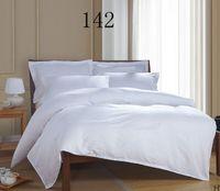 Wholesale Home White strip Twin Full Queen King Bed Cotton duvet cove Duvet Cover quilt cover bedclothes x210cm x240cm Solid