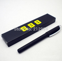 Cheap Wholesale-Free shipping 10pcs lot Novel Magic Auto Vanishing Disappearing Ink Pen Invisible Ink Sign Pen Stationery - Black