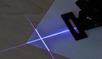 adapter cross - nm mW Foucsable Blueviolet Laser Cross Line Module w Power Adapter Tripod