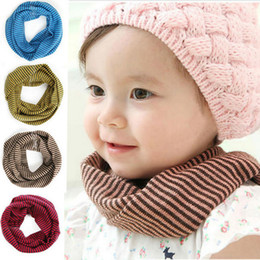 Wholesale New Fashion Toddlers Kids Baby Girl Boy Snood Scarf Winter Stars Print Scarves Neckerchief