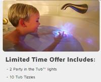 bath tub lights - bath toy party in the tub Children s bath tub lights bath Lights TV