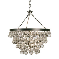 Wholesale Modern Gourd Crystal chandelier lights lamps For dining kitchen Luxury Hotel Foyer lighting Robert Abbey Chandeliers JD9072