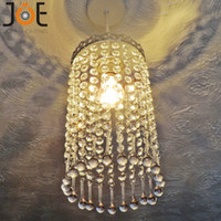 antique kitchen decor - New arrival Crystal chandelier Icicle Droplets Light fixtures Vintage Antique Style Home art Decor lamp for kitchen bedroom