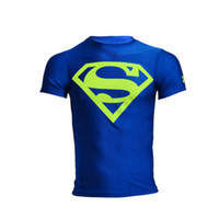 Wholesale The spring of boxing muay thai MMA T shirt Quick drying stretch tight perspiration men s t shirts Global
