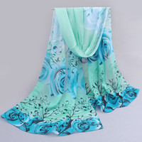 arabic turban hijab - from india promotion rose print chiffon scarves woman thin shawl turban belt hijab fashion arabic scarfs wrap qsr