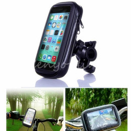 Wholesale Best Price New Bicycle Motor Bike Motorcycle Handle Bar Holder Waterproof Case Bag EVA Foam pad For Apple For iphone C S