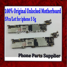 Wholesale Quality Guarantee amp Original Unlocked Mainboard For Apple iphone g Motherboard with Chips Good Working