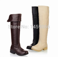 attack types - HOT Attack on Titan cosplay boots Shingeki no Kyojin Eren Jaeger Mikasa Ackerman Shoes brown type customized size custom made