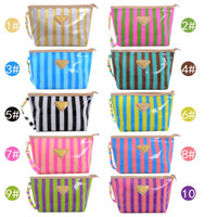 beach wallet - Women Girl Make up Bag PVC Waterproof Beach Camping Comestic Case Phone Purse Card Sundries Bags Wallet Handbag LN