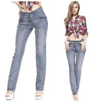 Wholesale New Women s Jeans High Quality Fashion Design Long Jeans For Women Plus size Casual Denim trousers Jeans Woman