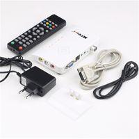 av receiver vga - set Digital TV Box LCD CRT VGA AV Stick Tuner Box View Receiver Converter Newest