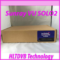 Cheap Wholesale-Wholesales-Sunray vu solo Linux OS Vu Plus 1300 MHz CPU Twin tuner vu solo2 vu solo 2 hd satellite tv receiver DHL free shipping