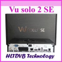 Cheap Wholesale-wholesale vu solo 2 se twin tuner decoder original software dvb-s2 hd Linux OS Digital satellite tv receiver high quality