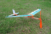 airplanes science - Rubber Band Airplane Paper Jet Glider model airplane Boy s toys learning machine Science Toys Assembly plane Educational toys