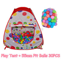 kiddie pool - Baby Kiddie Fabric Play Game Pit Ball Pool with Balls Children Playpens Playhouse Play Tent Toy tienda