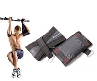 Wholesale Pair Ab black Abdominal Straps for Hanging Sling Chin Up Sit Up Bar Pullup Fitness Bearing up to KG Heavy Duty