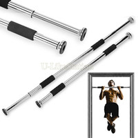 adjustable door bar - New Home Exercise Door Bar Chin Pull Up Bar Workout Training Gym Fitness Equipment Size Adjustable sv16 SV002908