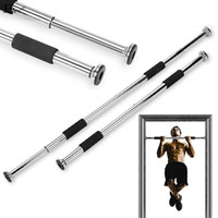 Wholesale New Hot Sport Equipment Home Door Exercise Bar Chin Pull Up Workout Training Gym Size Adjustable Fitness