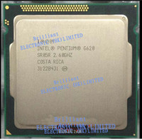 Wholesale Pentium G620 M Cache GHz LGA P Pentium G620 CPU Scratter pieces