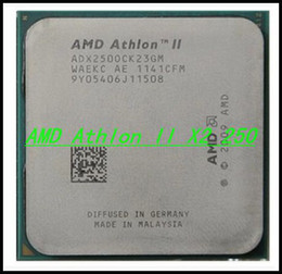 Wholesale CPU100 Original Processor desktop for AMD Athlon II X2 GHz M TDP works on Socket AM3 motherboard