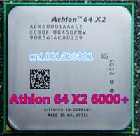 Wholesale K8 CPU Athlon x2 Socket AM2 pin G Desktop Processor ADA6000IAA6CZ Desktop Original Used disassemble Processor
