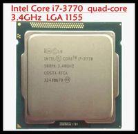 Cheap Wholesale-Original Processor desktop for intel Core Quad-Core i7 3770 i7-3770 CPU 3.4Ghz  8M  LGA 1155 motherboard free shipping