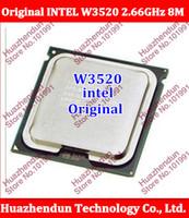 Wholesale Original Xeon CPU W3520 Quad core GHz M GT s LGA1366 SLBEW CPU Server Processor