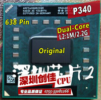 amd mobile athlon - Shipping free Laptop cpu processor For AMD Athlon II Dual Core P340 P Mobile M Cache GHz AMP340SGR22GM Socket S1 S1g4