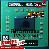amd tl - Shipping free For AMD cpu laptop Turion TL CPU M Cache GHz Socket S1 Dual Core Laptop processor