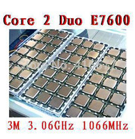 Wholesale E7600 cpu for Intel Core Duo E7600 Desktop CPU M GHz MHz Desktop Original Used disassemble Processor