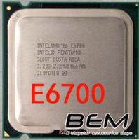 athlon pentium - pentium e6700 CPU LGA775 ghz processor socket extreme lga mainboard no need adapter athlon x2