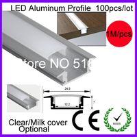 Wholesale x1m led aluminium profile for led bar light led strip aluminum channel for led strip