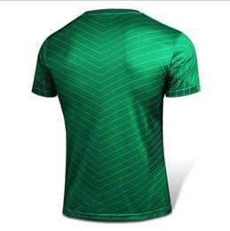 los hombres al por mayor de la linterna verde de manga corta corriendo camisas de la camiseta hombre deportes al aire libre de secado rápido y apretado culturismo ciclismo camiseta desde camiseta para correr verde proveedores