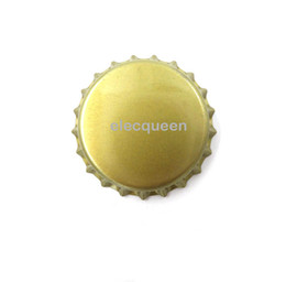 Wholesale-100pcs lot Beer bottle cap beer lid for DIY homebrew beer tool Free shipping